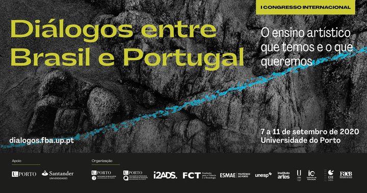 Diálogos entre Brasil e Portugal | Inscrições até 30.07.2020