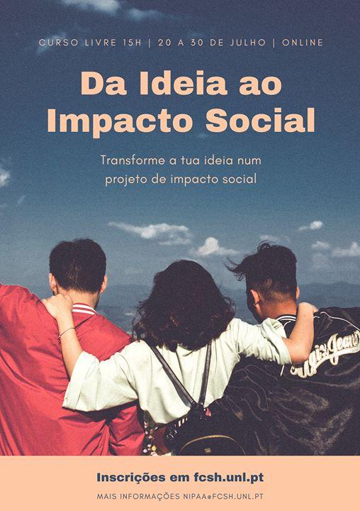 curso livre - Da Ideia ao Impacto Social