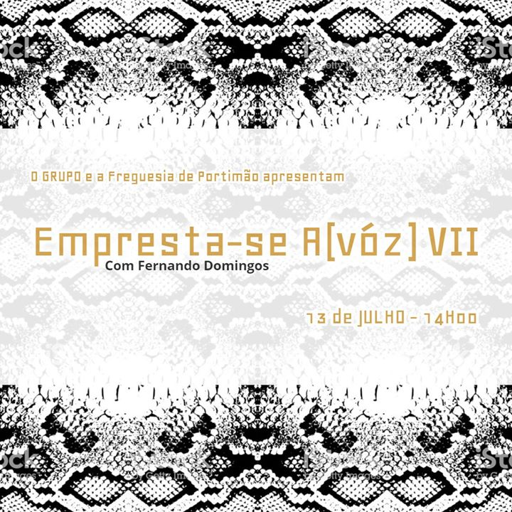 Empresta-se A(vóz) VII com Fernando Domingos
