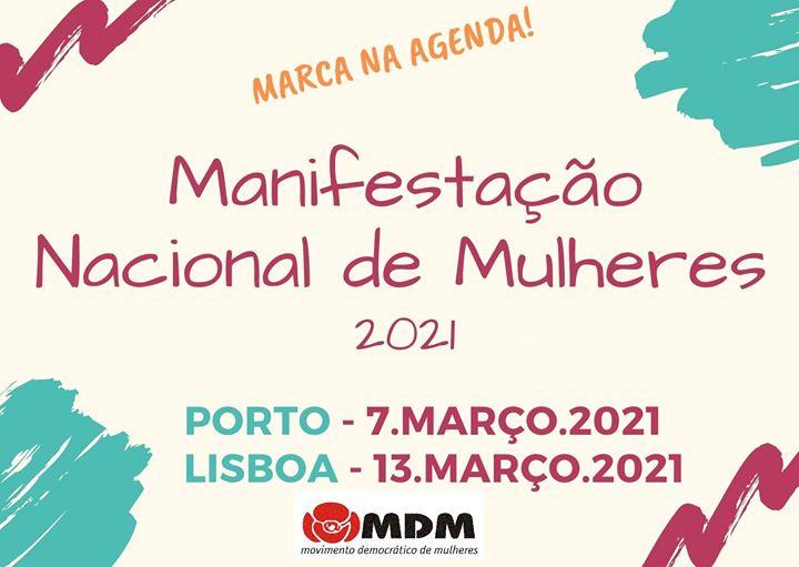 Manifestação Nacional de Mulheres 2021