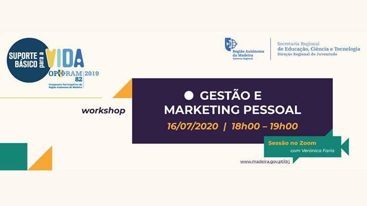 Workshop Online | Gestão e Marketing Pessoal (2º edição)