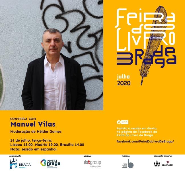 Manuel Vilas na Feira do Livro de Braga