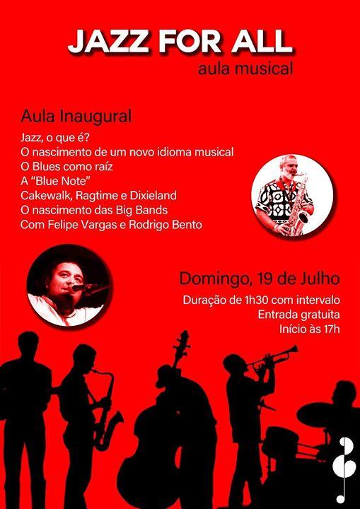 Aula Músical com Felipe Vargas e Rodrigo Bento - Entrada Grátis