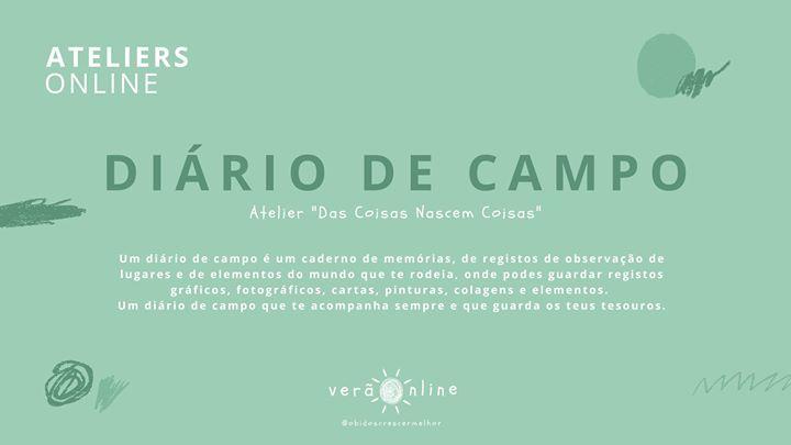 Atelier 'Diário De Campo'