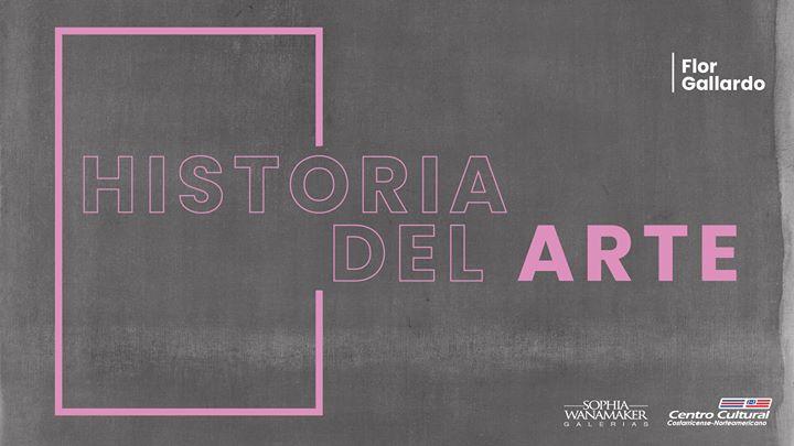Historia del arte, bloque AZUL (online workshop)