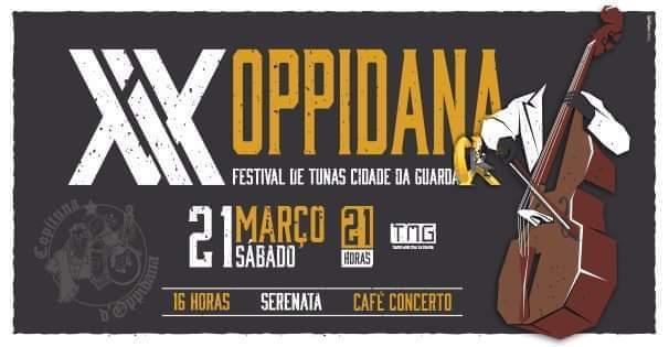 XIX Oppidana - Festival de Tunas Cidade da Guarda