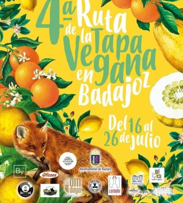 4ª Ruta de la Tapa Vegana en Badajoz