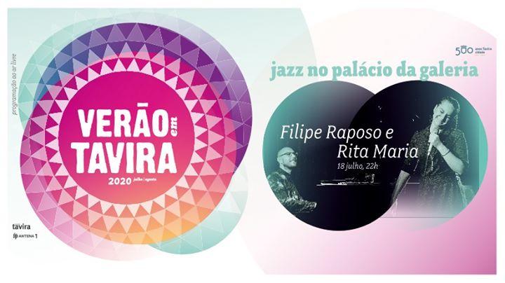 Jazz em Tavira   Rita Maria e Filipe Raposo