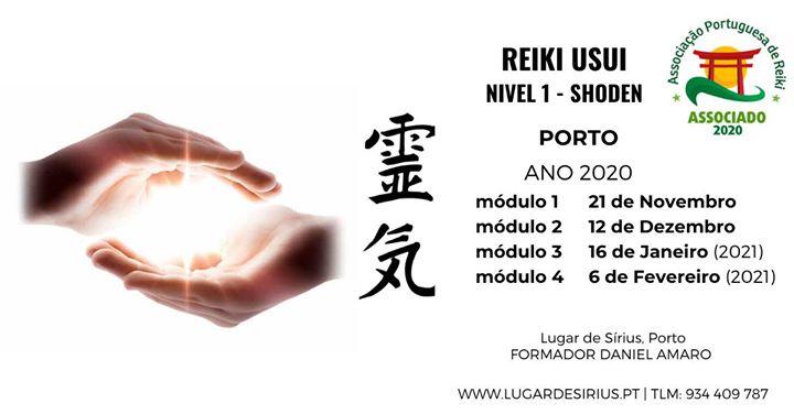 Curso de Reiki Usui - Nível 1