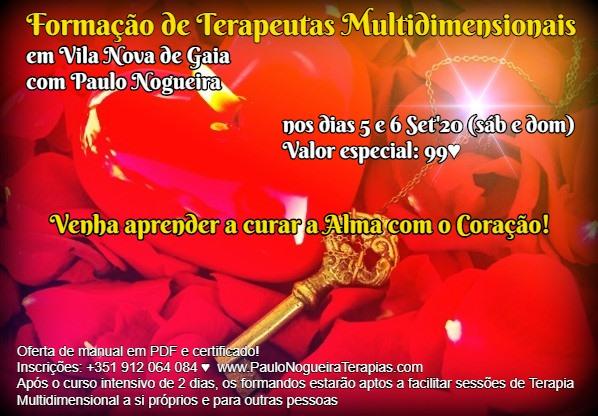 Curso de Terapia Multidimensional em V. N. GAIA em Set - 99 eur