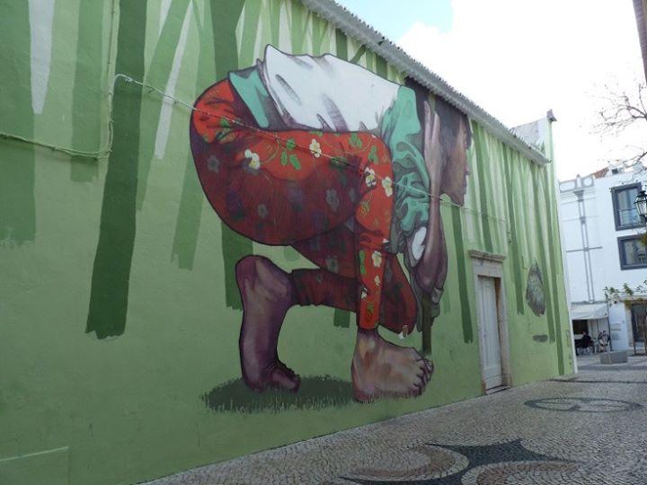 Percurso da Arte Urbana em Lagos