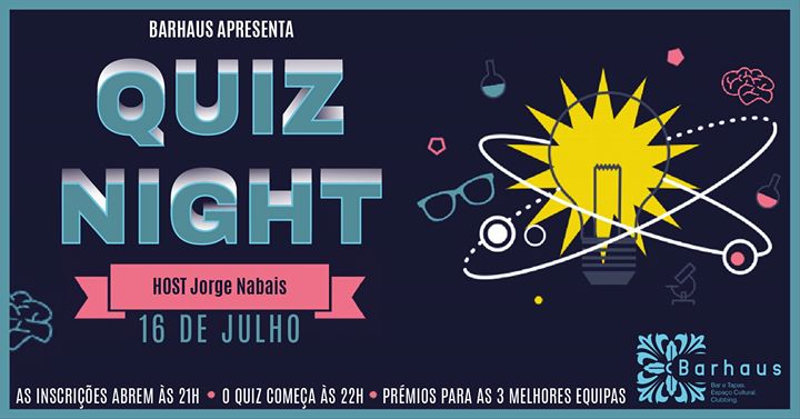 Quiz Night no Barhaus _16 de Julho