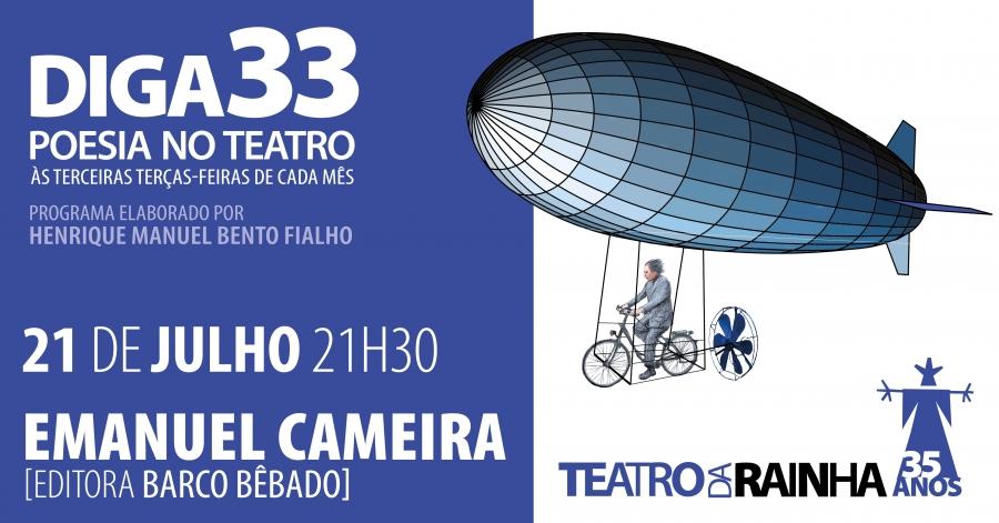 Diga 33 com Emanuel Cameira (Editora Barco Bêbado)