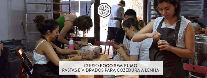 Curso FOGO SEM FUMO - Pastas e Vidrados para Cozedura a Lenha