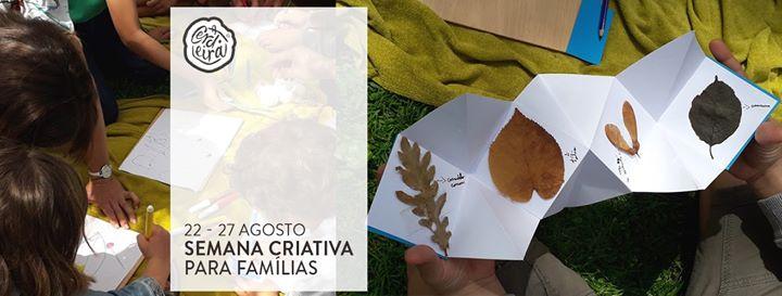 Semana Criativa para famílias