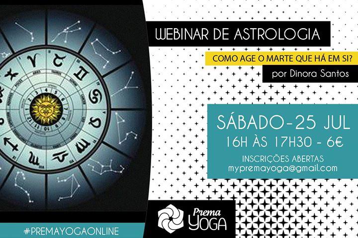 Webinar de Astrologia