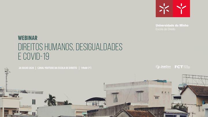 Webinar - Direitos Humanos, desigualdades e Covid-19