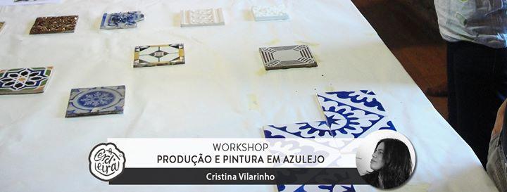 Workshop Produção e Pintura em Azulejo
