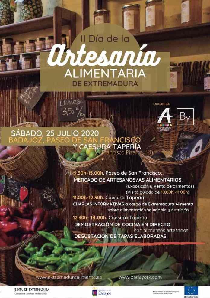 Día de la Artesanía Alimentaria en Extremadura – Demostración de cocina en directo