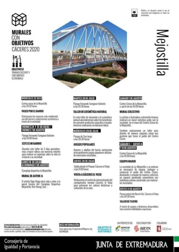 Murales con Objetivos. Cáceres 2020 – Equipo Maker