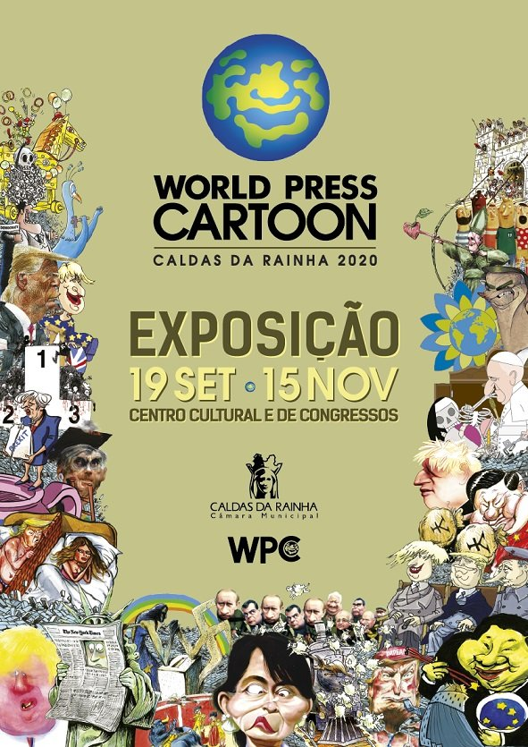 Exposição WORLD PRESS CARTOON 2020