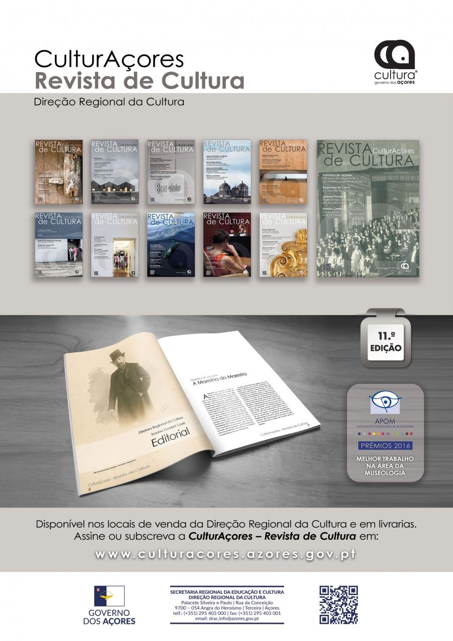 CulturAçores – Revista de Cultura n.º 11