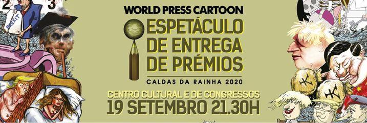 World PressCartoon 2020 - Espetáculo de entrega de prémios