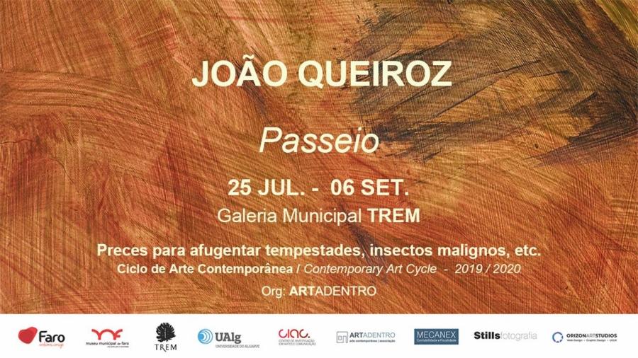 Passeio - Exposição de João Queiroz