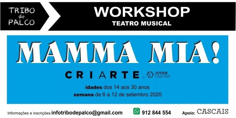 Workshop Teatro Musical II, adaptação MAMMA MIA