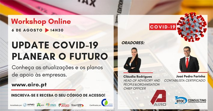 Update COVID-19 - Planear o Futuro