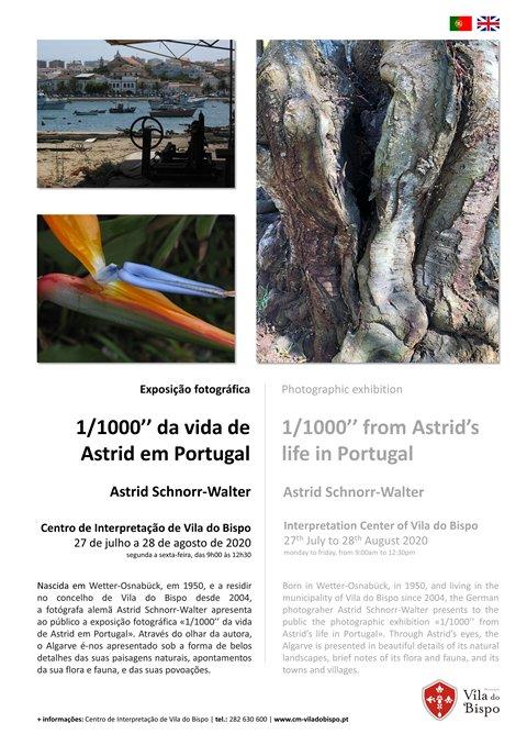 """Exposição de fotografia - 1/1000"""" da vida de Astrid em Portugal"""