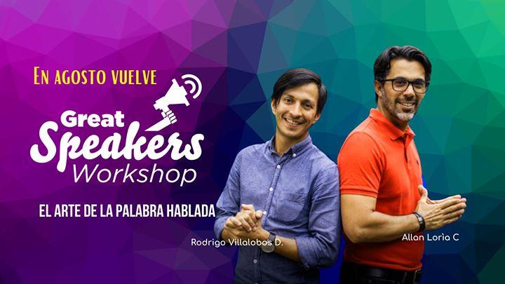 Great Speakers | Workshop