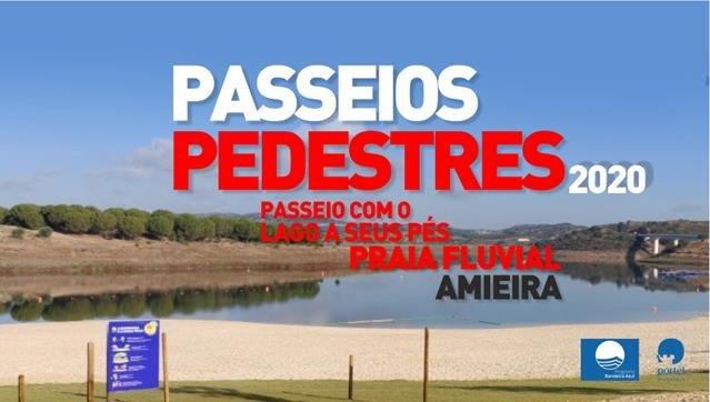PASSEIOS PEDESTRES - PRAIA FLUVIAL DE AMIEIRA