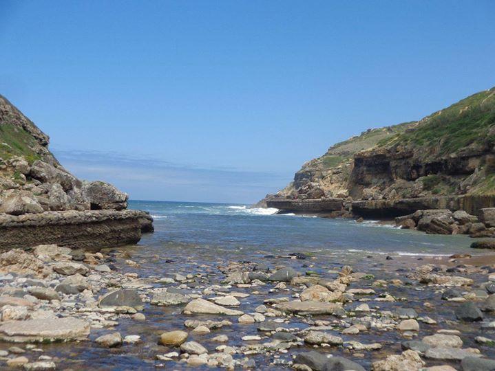 Caminhando na Praia da Samarra