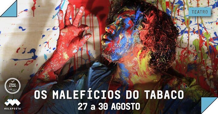 Teatro: Os Malefícios do Tabaco