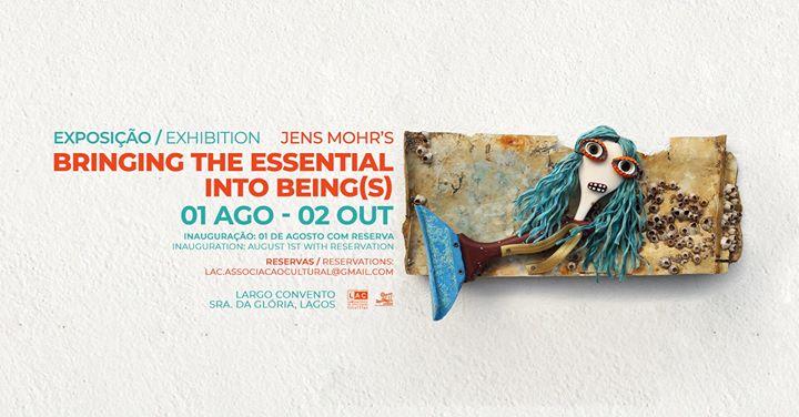 Exposição 'Bringing the essential into being(s)' de Jens Mohr