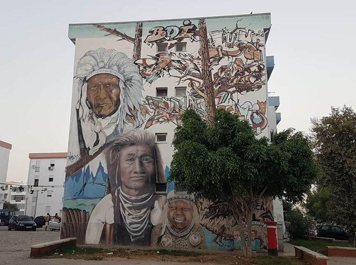 Percurso da Arte Urbana em Olhão