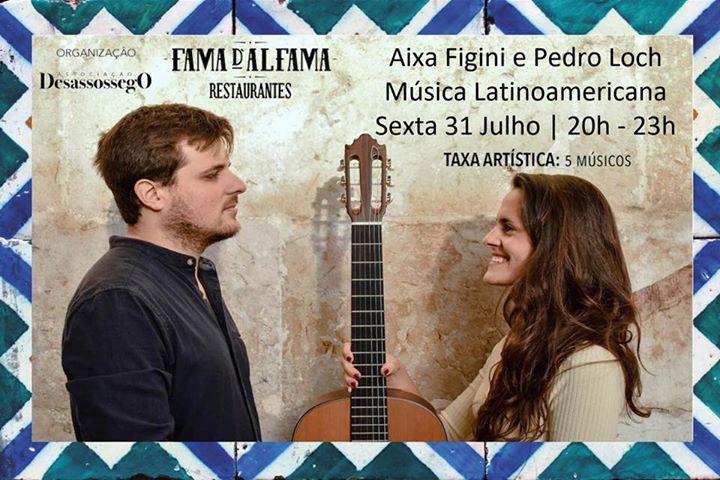 Aixa Figini e Pedro Loch - música latino americana