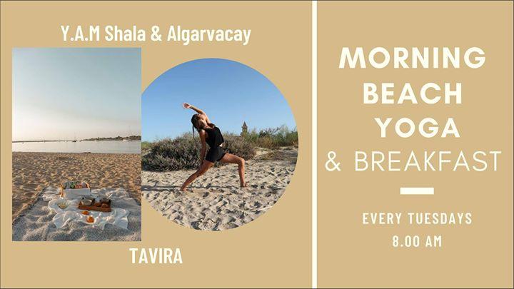 Morning beach Yoga & Breakfast