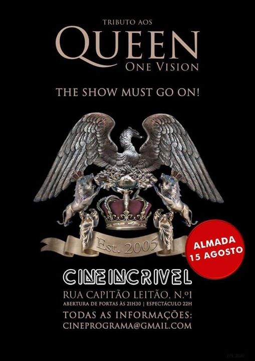 ONE VISION Tributo a QUEEN