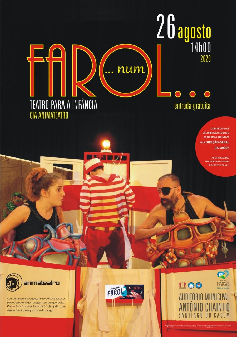 """Teatro """"…NUM FAROL…"""""""