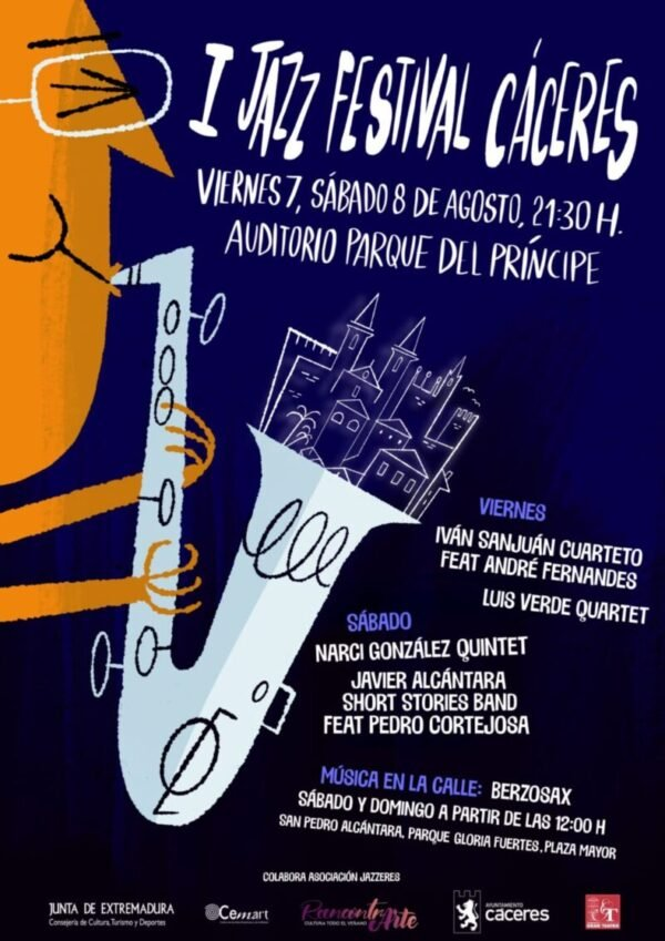 Jazz Festival Cáceres – Javier Alcántara Short Stories Band feat Pedro Cortejosa