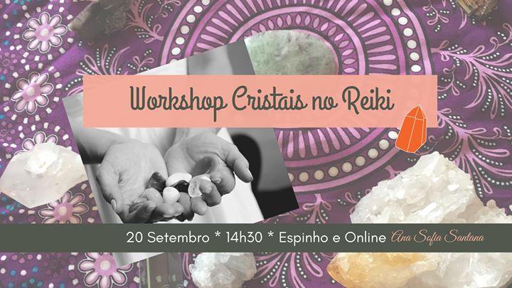 Workshop Cristais no Reiki