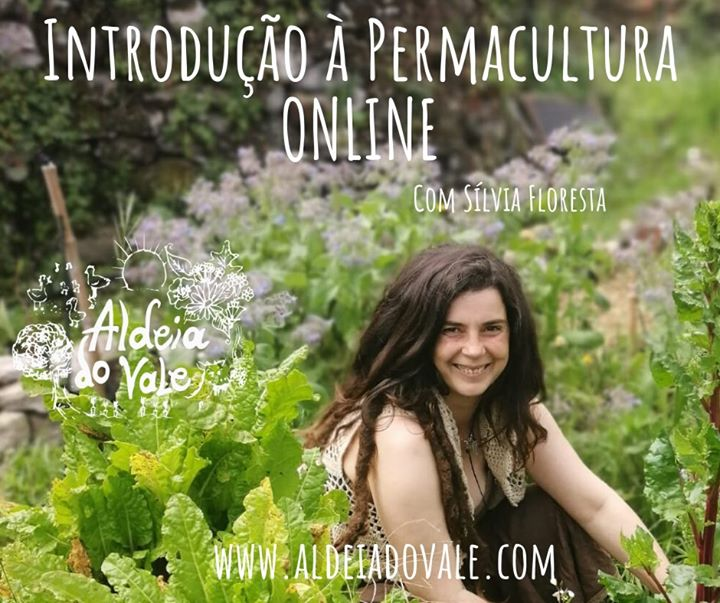 Introdução à Permacultura ONLINE com Sílvia Floresta