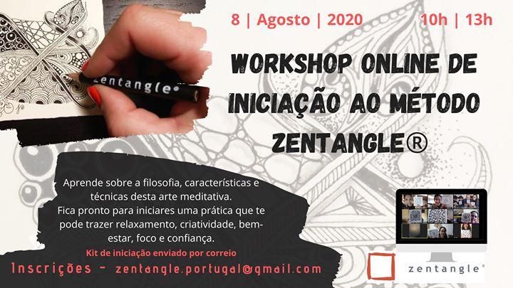 Workshop de Iniciação ao Método Zentangle®