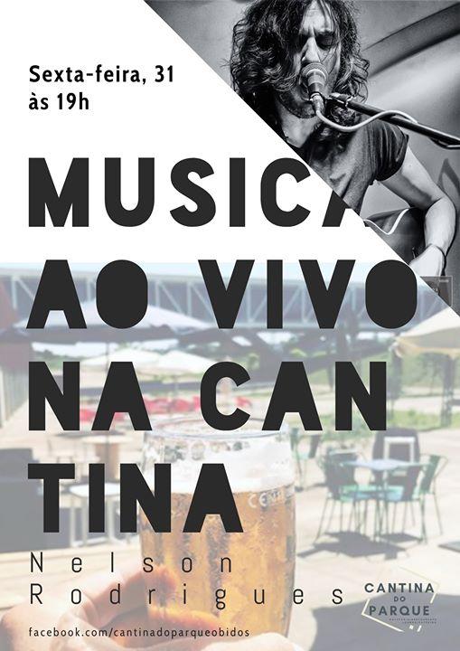 Musica ao Vivo na Cantina do Parque com Nelson Rodrigues