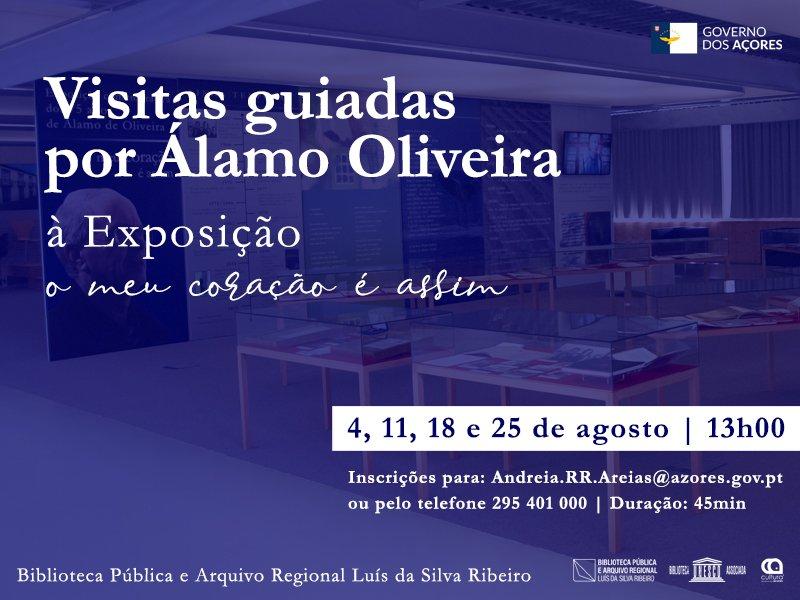 """Visita guiada exposição """"O Meu Coração é Assim"""", por Álamo Oliveira"""