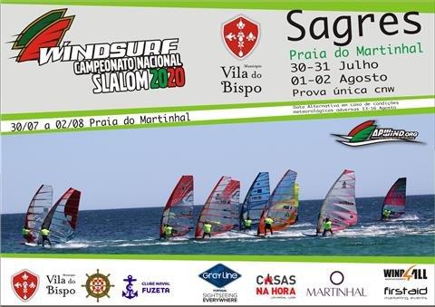 Windsurf Campeonato Nacional Slalom 2020