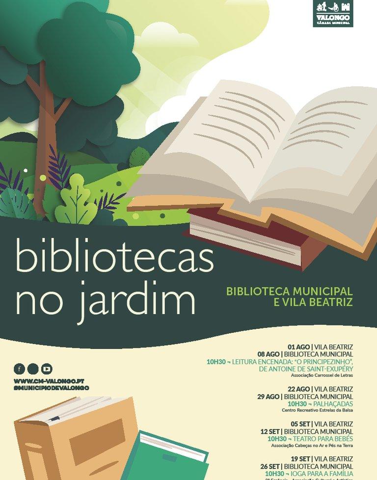 Bibliotecas no Jardim - Ioga para Família