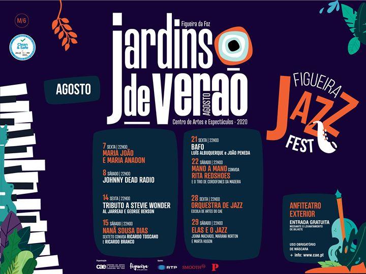 Jardins de Verão do CAE | Figueira Jazz Fest